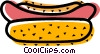 Vector Clip Art graphic  of a Hot Dogs