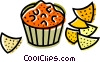 Potato Chips Crisps Vector Clip Art graphic