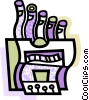 Church Organs Vector Clipart illustration