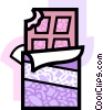 Vector Clipart image  of a Chocolates
