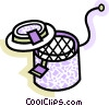 Vector Clipart illustration  of a Deep Fryers