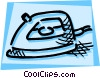 Irons Ironing Vector Clipart picture