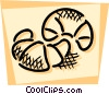 Vector Clip Art image  of a Croissants