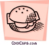 Sandwiches Vector Clipart illustration