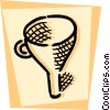 Vector Clip Art image  of a Funnels