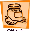 Vector Clipart image  of a Preserves