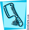 Vector Clip Art graphic  of a Cleavers