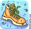 Hiking Boots Vector Clipart picture