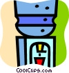 Water Coolers Vector Clipart illustration