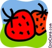 Strawberries Vector Clip Art picture