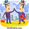 Shaking Hands Vector Clipart image