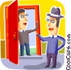 Doorways Vector Clipart picture
