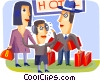 Family Vector Clipart picture