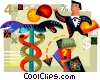 Scientists and Researchers Vector Clip Art picture