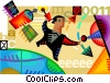 Broadcasting and Communications Vector Clip Art picture