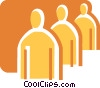 People as Symbols Vector Clip Art picture