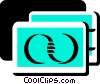 Vector Clipart picture  of a Credit Cards