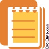 Notepad Vector Clip Art picture