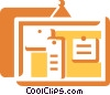 Vector Clip Art graphic  of a Messages