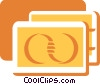 Vector Clip Art graphic  of a Credit Cards