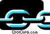 Vector Clipart graphic  of a Chains