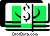 Dollars Vector Clip Art graphic