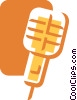 Microphones Vector Clipart illustration