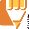 Pencils Vector Clipart illustration