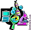 Medical Research Vector Clipart image