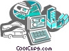 Technology Tools Vector Clip Art picture