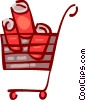 Shopping Carts Vector Clipart image