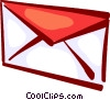 Vector Clip Art image  of a Envelopes