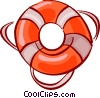 Vector Clipart picture  of a Life Vests and Preservers