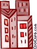 Office Buildings Vector Clipart picture