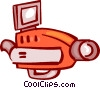 Video Cameras Vector Clipart graphic