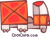 Transport Trucks Vector Clip Art picture