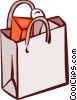 Shopping Bags Vector Clip Art graphic
