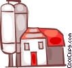 Barns and Farms Vector Clipart image