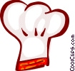 Vector Clipart graphic  of a chef's hat