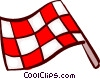 Auto Racing Vector Clip Art graphic