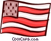 Vector Clipart picture  of a USA Flag