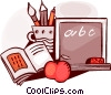 Chalkboards Vector Clipart picture