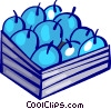 Vector Clipart illustration  of an Apples
