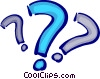 Vector Clipart graphic  of a Punctuation