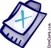Vector Clip Art picture  of a Clipboards
