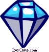 Vector Clip Art graphic  of a Precious Stones
