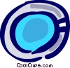 Vector Clip Art graphic  of a Bowls and Dishes