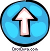 Vector Clipart picture  of a Street Signs Road Signs