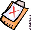 Vector Clipart picture  of a Clipboards