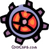 Vector Clipart picture  of a Gears